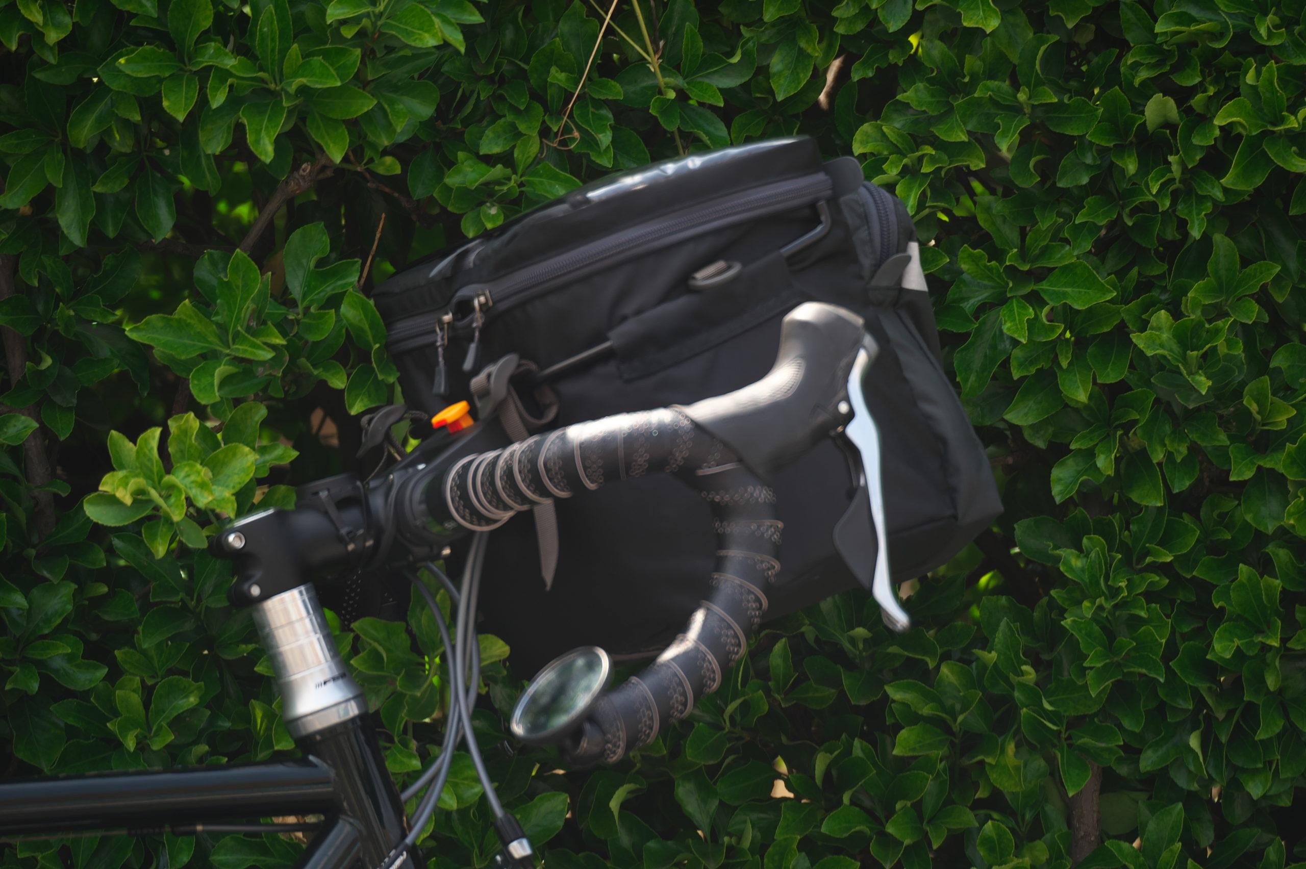 モンベルのフロントバッグ