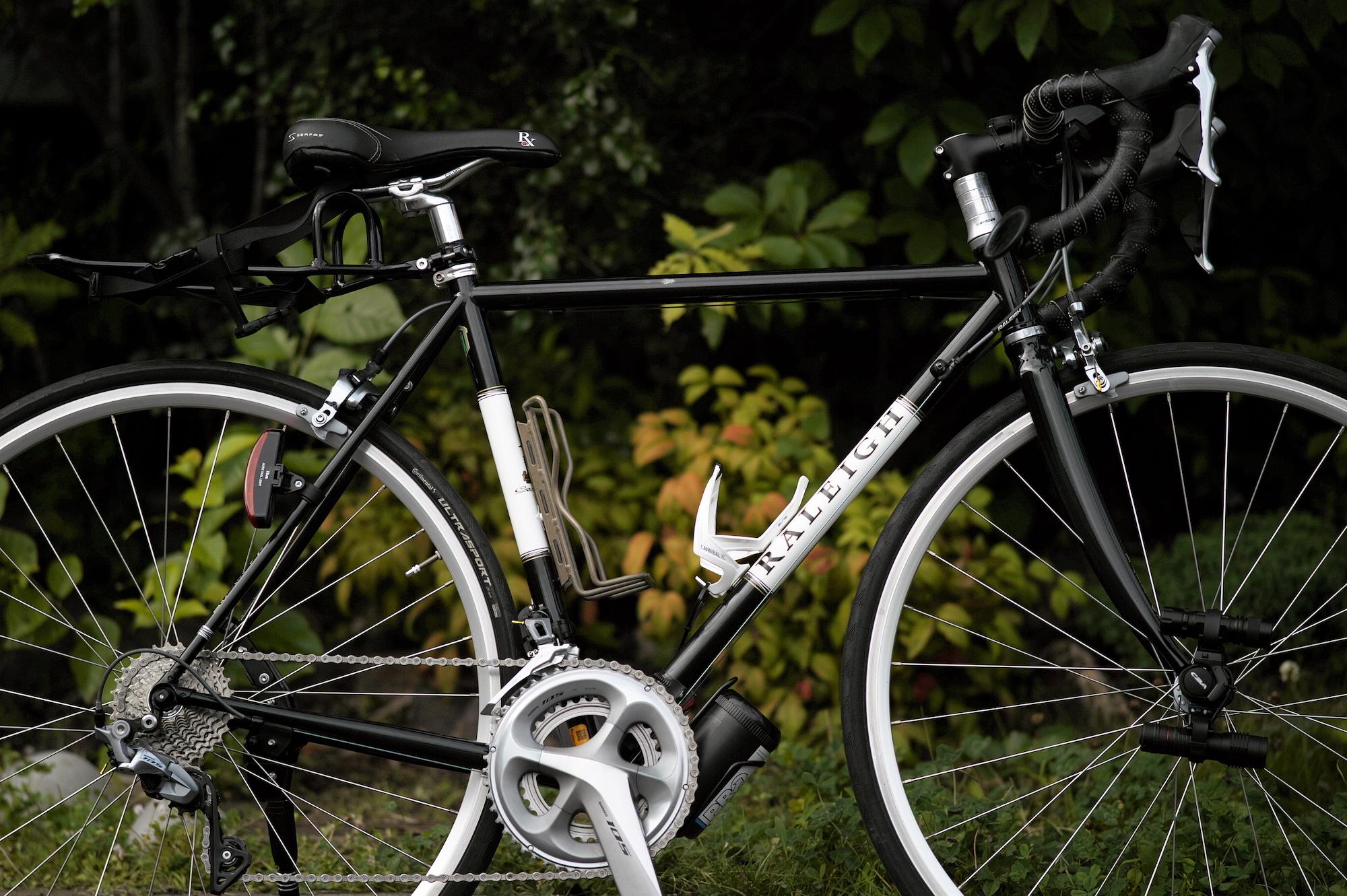 望遠レンズで撮ったロードバイク・ラレーCRF